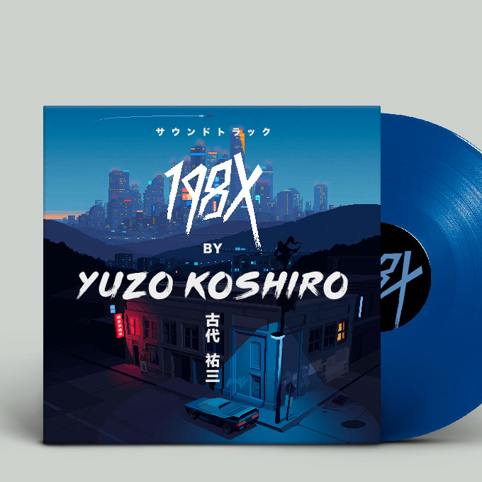 198X by Yuzo Koshiro vinyl soundtrack